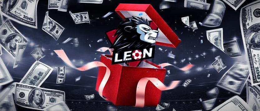БК Леон бонус